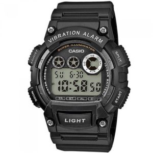 Ρολόι Casio Collection Black Rubber Strap - W-735H-1AVEF W-735H-1AVEF