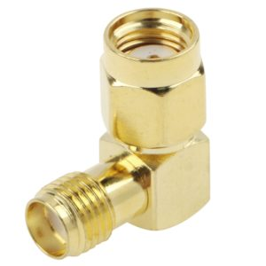 Gold Plated RP-SMA Male to SMA Female Adapter