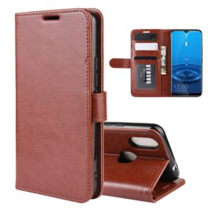For LEAGOO M13 R64 Texture Single Fold Horizontal Flip Leather Case with Holder & Card Slots & Wallet(Brown) (LEAGOO)