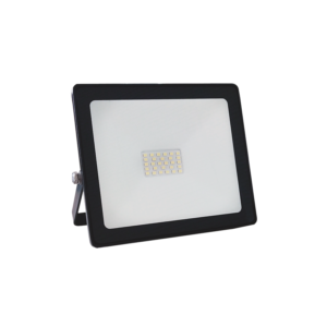 BLACK LED SMD FLOOD LUMINAIRE IP66 30W 3000K 2400Lm 230V RA80