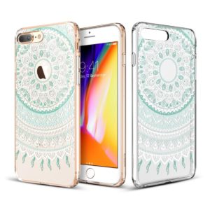 ESR ESR IPhone 8 Plus Totem Series Mint Mandala (200-104-263)