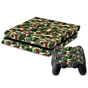 Camouflage Pattern Decal Stickers for PS4 Game Console