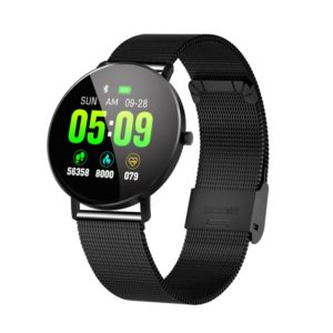 F25 1.3 inch TFT Color Screen Steel Watchband Smart Bracelet, Support Call Reminder/ Heart Rate Monitoring /Blood Pressure Monitoring/Sleep Monitoring/Blood Oxygen Monitoring (Black)