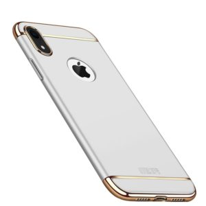 MOFI Three Stage Splicing Full Coverage PC Case for iPhone XR (Silver) (MOFI)