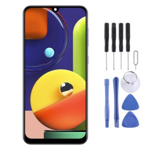 Original Super AMOLED Material LCD Screen and Digitizer Full Assembly for Galaxy A50s