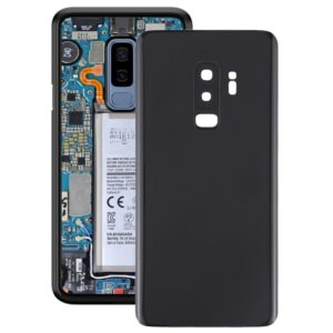 Battery Back Cover with Camera Lens for Galaxy S9+(Black)