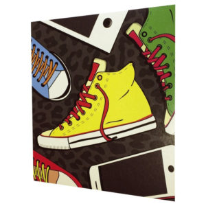 1x25 Daiber Sneaker/Ipod 13x18 Kids Portrait folders 13319