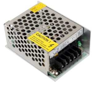 S-25-5 DC (5V 5A) Regulated Switching Power Supply, Input:AC180~240V, Dimension(LxWxH): 85x58x38mm