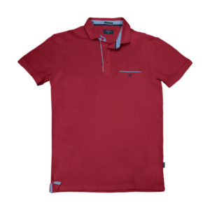 PS-224SVA Double Polo Jersey (μεγάλα μεγέθη) (red)