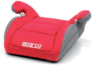 Sparco Booster Παιδικό κάθισμα αυτοκινήτου 15-36kg - Red (00924RS)