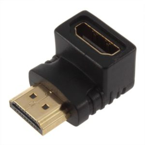 Adapter No brand, HDMI F - HDMI M Angle, Black - 17121