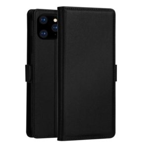 DZGOGO MILO Series PC + PU Horizontal Flip Leather Case for iPhone 11 Pro, with Holder & Card Slot & Wallet (Black) (DZGOGO)