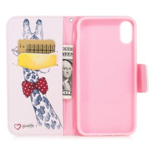 Colored Drawing Pattern Horizontal Flip Leather Case for Samsung Galaxy J6Plus&J6 Prime,with Holder & Card Slots & Wallet(Deer)