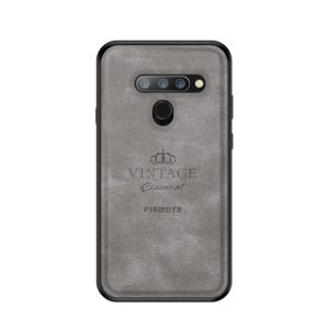 PINWUYO Shockproof Waterproof Full Coverage PC + TPU + Skin Protective Case for LG V40 ThinQ(Grey) (PINWUYO)