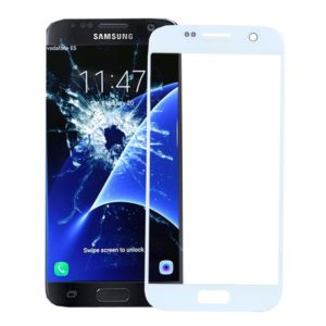 Front Screen Outer Glass Lens for Galaxy S7 / G930 (White)