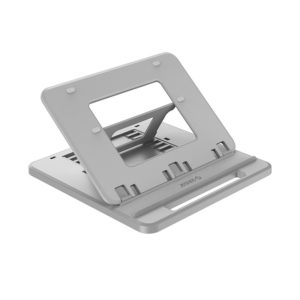 ORICO NSN-C1 Hollow Design Texture Surface Cooling Holder with 7-Level Adjustable Angle & Handle for Laptop, Tablet(Grey) (ORICO)