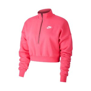 Nike Sportswear Essential Fleece Crop Φουτερ Φουξ
