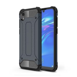 Magic Armor TPU + PC Combination Case for Huawei Honor 8S (Navy Blue)