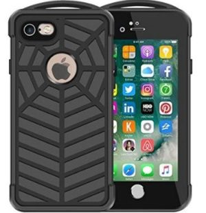 Redpepper Αδιάβροχη θήκη iphone 7/8 4.7 Waterproof Spidercase -black