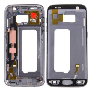 Front Housing LCD Frame Bezel Plate for Galaxy S7 / G930(Grey)