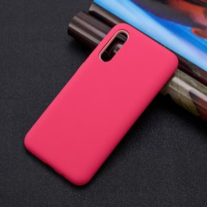 For Galaxy A70 3 in 1 Shockproof PC + Silicon Case(Red)