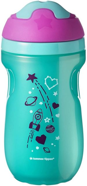 Tommee Tippee Sippee Drinking Cup Εκπαιδευτικό κύπελλο 12+ μηνών 260ml - Pink (471581)