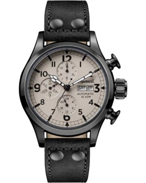 Ingersoll I02202 Armstrong Automatic Black Leather Strap