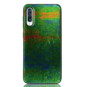 Magic Color PU + TPU Protective Case for Galaxy A70 (Green)