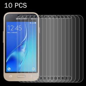 10 PCS for Galaxy J1 Mini / J1 Nxt / J105 0.26mm 9H Surface Hardness 2.5D Explosion-proof Tempered Glass Screen Film