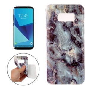 For Galaxy S8 Marble Pattern Soft TPU Protective Case