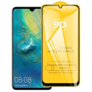 25 PCS For Huawei P20 lite (2019) 9D Full Glue Full Screen Tempered Glass Film