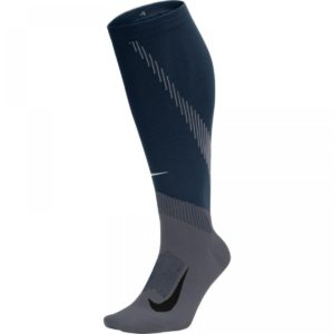 Nike Elite Compression Over-The-Calf Running Socks (SX6267-010)