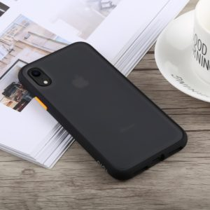 TOTUDESIGN Gingle Series Shockproof TPU+PC Case for iPhone XR (Black) (TOTUDESIGN)