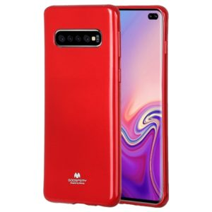 GOOSPERY I JELLY METAL TPU Protective Case for Galaxy S10(Red)