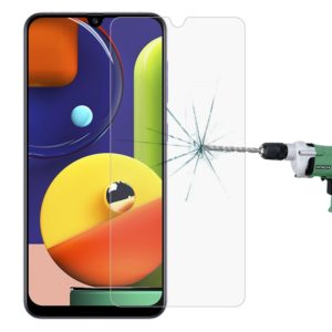 For Galaxy A50s 2.5D Non-Full Screen Tempered Glass Film