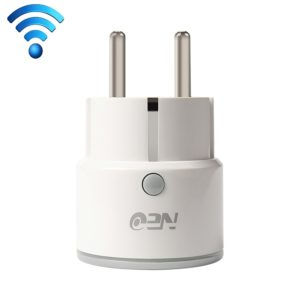 NEO NAS-WR01W WiFi EU Smart Power Plug,with Remote Control Appliance Power ON/OFF via App & Timing function (NEO)