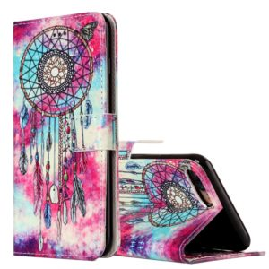 For iPhone 8 Plus & 7 Plus Butterfly Wind Chimes Pattern Horizontal Flip Leather Case with Holder & Card Slots & Wallet