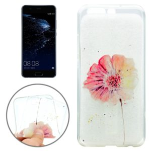 For Huawei P10 Flower Pattern IMD Workmanship Soft TPU Protective Case