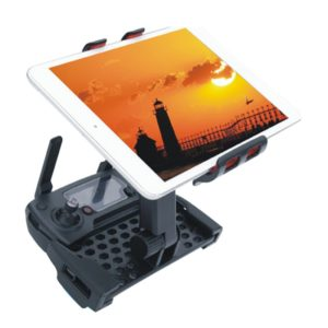 360 Degrees Rotatable Foldable Phone / Tablet Holder for DJI Mavic Pro Transmitter, Suitable for 4-12 inch Smartphone / Tablet(Red)