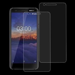 2 PCS 9H 2.5D Tempered Glass Film for Nokia 3.1