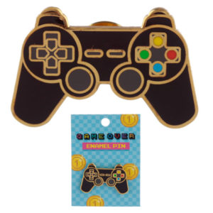 Novelty Gaming Game Controller Design Enamel Pin Badge