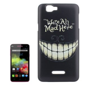 We Are All Mad Here Pattern Colored Drawing PC Protective Case for Wiko Rainbow