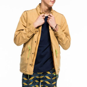 Scotch and Soda Safari Parka - Αμμου