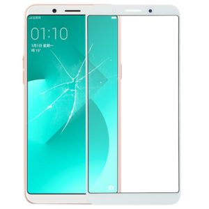Front Screen Outer Glass Lens for OPPO A83 (White)