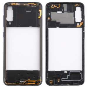 Rear Housing Frame with Side Keys for Galaxy A50s (Black)