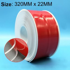 PVC Kitchen and Bathroom Waterproof and Mildew Proof tape,Size:22mm x 3.2m(White)