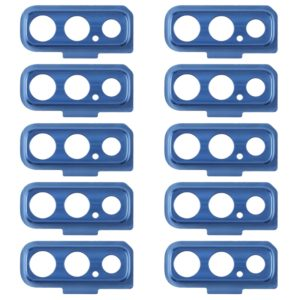 10 PCS Camera Lens Cover for Galaxy A7 (2018) A750F/DS (Blue)