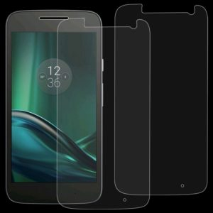 2 PCS 0.26mm 9H 2.5D Tempered Glass Film for Motorola Moto G4 Play