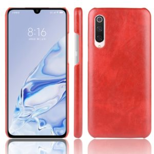 For Xiaomi Mi 9 Pro Shockproof Litchi Texture PC + PU Case(Red)