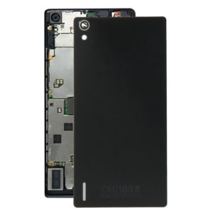 For Huawei Ascend P7 Battery Back Cover(Black)